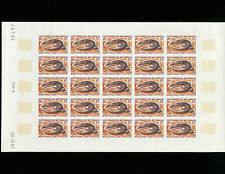 """Somali Coast 1967 Reptile""""Desert Monitor""""  IMPERF in issued colors Sheet of 25"""