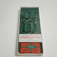 Vintage Dept 56 Christmas Village Accessory Battery Operated Streetlamp Box