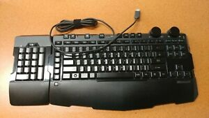 Microsoft Sidewinder X6 Gaming Keyboard W/ Number-Pad
