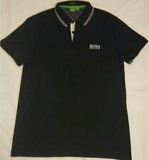 Hugo Boss Spellout Black Golf Polo Shirt (Men's XL)