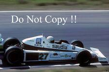 Alan Jones Williams FW06 F1 Season 1978 Photograph 2