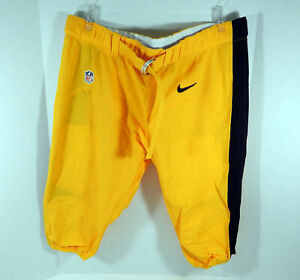 Pittsburgh Steelers Game Issued Yellow Game Pants 48 DP06648
