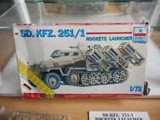 Modelkit ESCI / ERTL Sd. KFZ 251/1 Rockets Launcher on 1:72 in Box