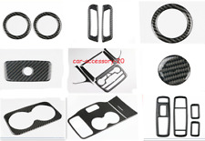 Real Carbon Fiber Inner Kit Trim For Jeep Grand Cherokee 2014-2015 Accessories