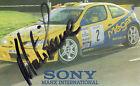 MARTIN ROWE AUTOGRAPHED PHOTO RALLY CARS MOTOR SPORT