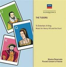THE TUDORS: TO ENTERTAIN A KING - MUSIC FOR HENRY VIII AND HIS COURT NEW CD