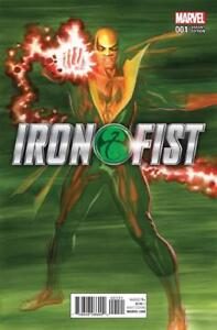 Iron Fist 1 1:50 Variant Marvel Nice FREE SHIP Alex Ross Cover