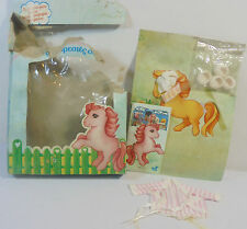EL GRECO VTG 80's MLP G1 GREEK OMORFOULA FASHIONS OUTFIT MIP MY LITTLE PONY RARE
