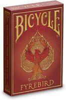 Bicycle FYREBIRD Custom Playing Cards Standard Poker Size Magic USPCC 1 Deck USA