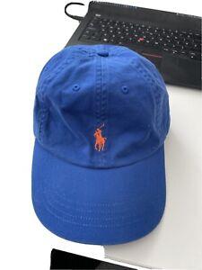Blue Polo Ralph Lauren Cap