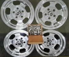 Cheviot 13x6 jellybean x4  suit Holden FC EK EH HR Torana polished new nuts caps