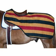 Intrepid International Quarter Sheet with Traditional Stripes Gold/Black/Red .