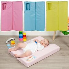 Large Baby Changing Mat Deluxe Soft Padded Waterproof Nappy Diaper Foldable Pad