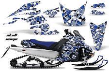 AMR Racing Sled Wrap Yamaha FX Nytro Snowmobile Graphics Kit 08-14 SKULL CAMO U
