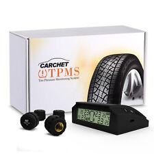 CARCHET Auto TPMS Sistema Monitor Pressione Pneumatico Allarme+4 Sensori Esterno
