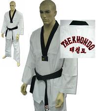 DOBOK ELITE per TAEKWONDO WTF a NIDO APE Elastico RIBBED SUIT Karate kimono ITF