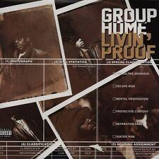 "GROUP HOME "" LIVIN PROOF "" 3 X LP SET 25 TRACKS *** COLOURED VINYL ***"