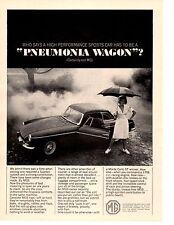 1965 MG MGB  ~  NICE ORIGINAL PRINT AD