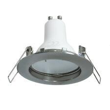 Faretto lampada LED 5W luce spot 38 gradi incasso tondo GU10 foro 6cm 220V IP20