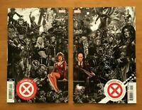 House of X 1, Powers of X 1  Brooks Connecting Variant Set  5th Print Marvel NM