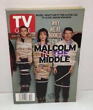 Malcom in the Middle 2000 TV Guide Book Bryan Cranston Heisenberg Breaking Bad