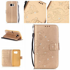 HOT For Samsung Galaxy serious Luxury Leather Wallet Card Holder Flip Case Cover