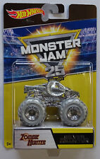 Hot Wheels Monster Jam 25 Jahre Silver Collection CRUSHSTATION Dwp06 1 64