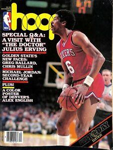 "JULIUS ERVING ""DR.J"" 1985 Hoop Magazine Philadelphia 76ers Michael Jordan year 2"