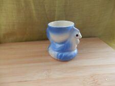 Lovely vintage blue chicken egg cup