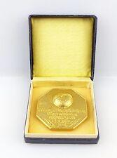 #e5674 Medaille 1. Nationale Briefmarkenausstellung A.K. Geophysik-Weltraum DDR