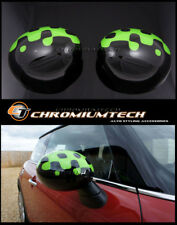 MINI Cooper/S/ONE R55 R56 R57 Vivid GREEN WING MIRROR Cap Covers for Manual Fold