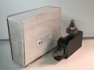 New ALORIS CA-20 Quick Change Universal Indexable Lathe Cutter Tool Holder