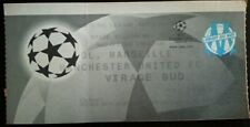 Billet 1999 Olympique de Marseille Manchester United Champions League, FIFA, OM