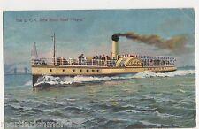 The L.C.C. New River Boat Pepys Postcard, B567