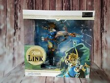 Nintendo Legend of Zelda Breath of the Wild LINK Premium Rare Figure NIB IN HAND