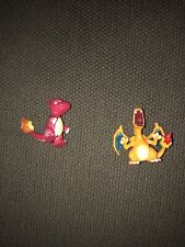 Vintage Tomy Pokemon Lot: Evolution Charmeleon & Charizard Mini Figures 🤩💵