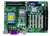 Socket 775 G31 with 2 ISA slots and 5 PCI 2 COM industrial motherboard