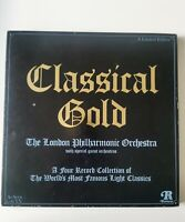 The London Philharmonic Orchestra – Classical Gold 4 × Vinyl LP Comp Limited Ed