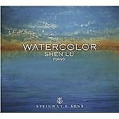New,  Shen Lu - Watercolor [Shen Lu] [STEINWAY & SONS: STNS 30039] - Shen Lu CD
