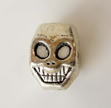 20Pcs Alloy Metal Laughing Skull Beads Finding--Jewelry Beads