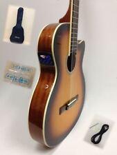 Caraya C-551 Thin-body Sunburst Spruce Cutaway Classical Guitar,EQ,Truss Rod+Bag