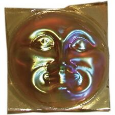 Stained Glass Supplies - Jewels -MOONFACE-LT AMBER/GOLD (13240) FREE SHIPPING