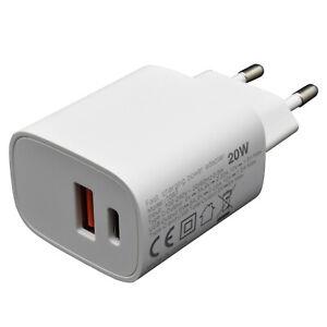 USB C Schnell Ladegerät Adapter Netzteil Iphone Samsung Huawei Xiaomi LG 20W 3A