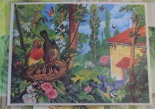 Décoration Murale,Set de Table 42 x 30 cm Nids de Rouge-Gorge,Mésange,Hirondelle