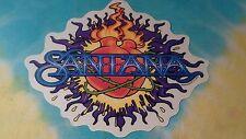 Santana Heart 6 x 5 Inch Window Sticker