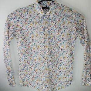 Cutty Shark-Camiceria Men's Long Sleeve Button Down Shirt Made in Italy Sz Large