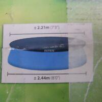 INTEX 8-Ft Easy Set Pool 8ft Cover blue *EX DISPLAY*