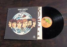 RARE EARTH, 70s SOUL ROCK LP, ONE WORLD, RARE EARTH LABEL