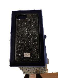 Black Swarovski Crystal Used iPhone Case 6 Plus - 6S Plus - 7 AND 8