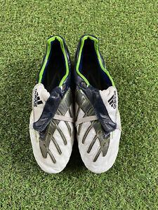 ADIDAS Predator Powerswerve XTRX SG FOOTBALL BOOTS | White | Rare | Size UK 9